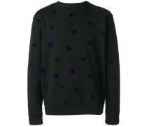 Pullover mit Schwalben-Patch