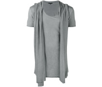 T-Shirt im Lagen-Look - men - Viskose - XL