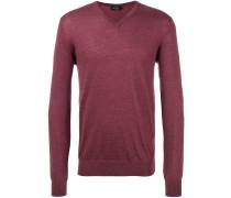 Pullover mit Ellenbogen-Patch