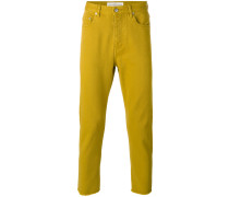 Jeans mit ungesäumten Kanten