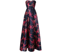 evening gown with print
