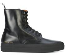 Military-Stiefel mit Schnürung