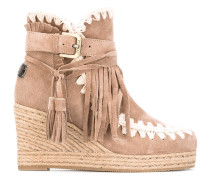 - eskimo wedge - women - Gamsleder/Leder/Foam