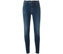Jeans mit Herztaschen
