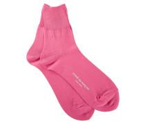 Kurze Socken mit Logo-Print