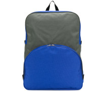bicolour backpack