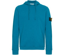 Blue Logo Hooded Sweater