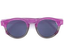 Gestreifte 'Leonard' Sonnenbrille