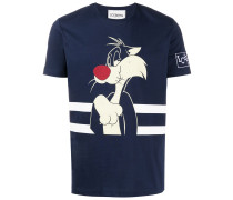 T-Shirt mit Sylvester-Print