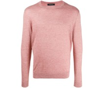 crew neck relaxed-fit jumper