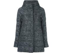 sequin embellished padded jacket