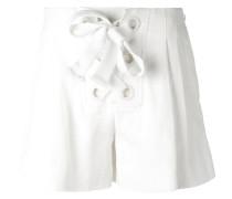 bow-detail shorts - women