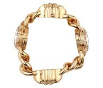 Medusa crystal-embellished bracelet