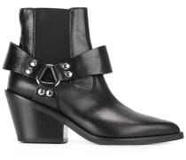 Chelsea-Boots mit Riemendetail - women