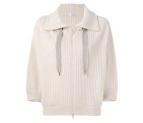 zipped sweatshirt - women - Kaschmir - M