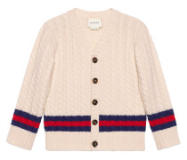 Children's wool cardigan with Web
