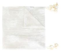 Schal mit Quasten - women - Seide/Baumwolle