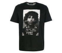T-Shirt mit Jim-Morrison-Print