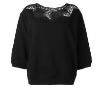 - Pullover mit Spitzeneinsatz - women - Baumwolle