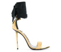 ankle-tie open-toe sandals