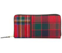 Portemonnaie mit Schottenkaromuster - unisex