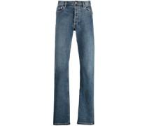 A.P.C. Halbhohe Straight-Leg-Jeans