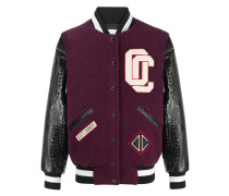 Collegejacke mit Patches