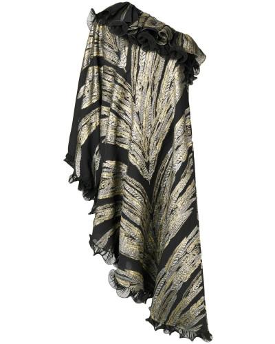 Asymmetrisches One-Shoulder-Kleid