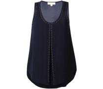 Tanktop mit Nieten - women - Polyester/Elastan
