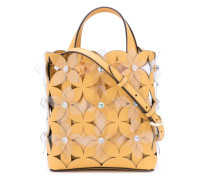 'Floral Bouquet Small North/South' Shopper