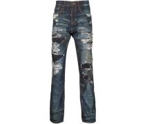 'Demon' Jeans im Used-Look