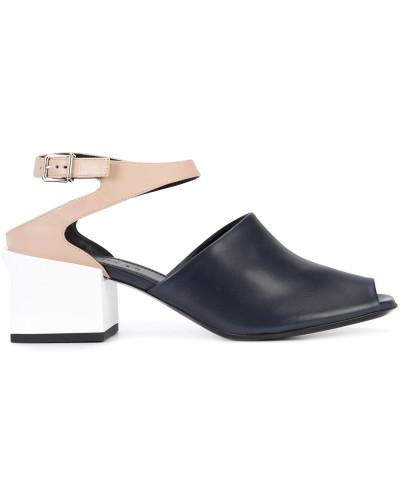 Sandalen mit Colour-Block-Optik