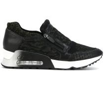 zipped sneakers
