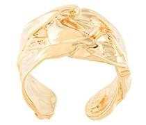 24kt vergoldeter 'Compression' Ring