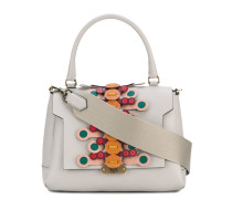 Bathurst small flip satchel - women - Leder
