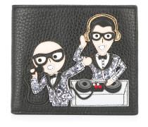 Portemonnaie mit Designer-Patch