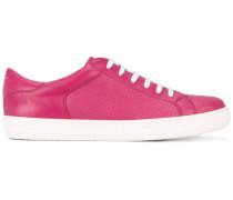 Sneakers mit Schnürung - women - Leder/rubber