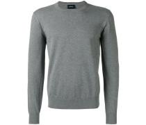 - Melierter Pullover mit Logo - men - Baumwolle