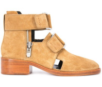 'Addis' Stiefeletten mit Cut-Outs