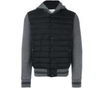 - hooded padded jacket - men