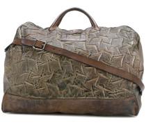 Reisetasche mit strukturierter Oberfläche
