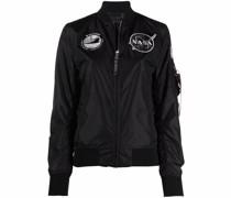 Jacke mit NASA-Patch