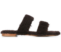 'Vail' Shearling-Pantoletten