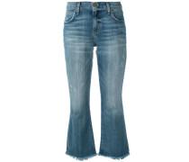 'Flip Flop' Cropped-Jeans - women