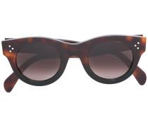 'Audrey' Sonnenbrille in Schildpattoptik
