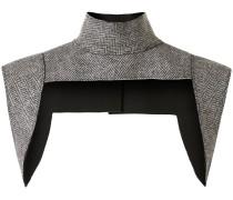 Harness-Top mit Fischgrätenmuster