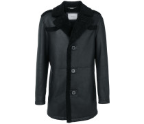 Oversized-Jacke aus Lammleder