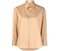 Hemd aus Popeline