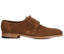 Derby-Schuhe mit verdecktem Verschluss