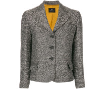 fitted buttoned jacket